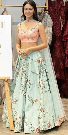 Book ur orders now Blouse Completely stitched Customised in all colours For booking ur dress plz dm or whatsapp at 7696747289 Indian Wedding Outfits, Bridal Outfits, Indian Outfits, Indian Attire, Indian Ethnic Wear, Bridal Lehngas, Lehenga Blouse, Lehenga Choli Latest, Patiala Salwar