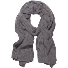 Rick Owens Alpaca-blend scarf ($495) ❤ liked on Polyvore featuring accessories, scarves, sciarpe, grey, oversized scarves, gray scarves, gray shawl, rick owens and grey scarves