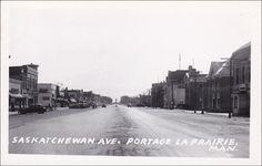 RP: Saskatchewan Avenue , PORTAGE LA PRAIRIE , Manitoba , Canada ,30-40s