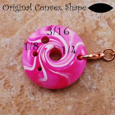 Spinner's DIZ & Threader Set Candy Pink No 9 by TheClaySheep