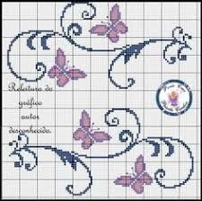 Resultado de imagem para graficos ponto cruz toalhas arabesco