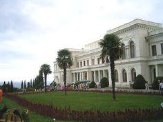 Livadia Palace Crimea Ukraine     Ukrainian castle, palace...