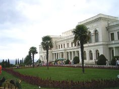 Livadia Palace, Crimea, Ukraine. Summer Palace of Tsar Nicholas II and his family. The palace contains 116 rooms, with interiors furnished in different styles