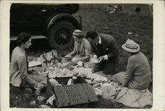 The Passion of Former Days: picnic photo