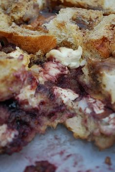 Blackberry French Toast Casserole