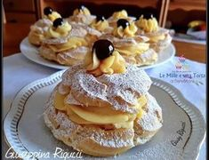 Fancy Desserts, Italian Desserts, Italian Recipes, Cupcake Recipes, Cookie Recipes, Dessert Recipes, Churros, Almond Paste Cookies, Easter Dishes