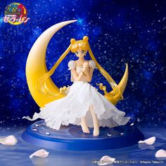 """sailor moon"" ""sailor moon toy"" ""sailor moon merchandise"" ""sailor moon figure"" ""princess serenity"" ""figuarts zero"" chouette figure anime ""sailor moon doll"" bandai anime japan shop 2016"