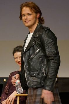Sam Heughan makes a great Jamie. This is how I pictured Jamie to look as I was reading.