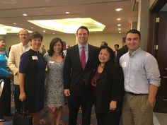 #TeamElevate Alex Sink, Will Weatherford, and Lilly Ho-Pehling at Greater Tampa Chamber of Commercer Roundtable! #TampaHasSwagger