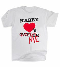 one direction shirts funny | Funny Harry Styles Taylor Swift One Direction 1D Harry Loves Me T ...