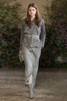Luisa Beccaria at Milan Fashion Week Fall 2018 - Runway Photos