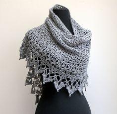 Custom Crochet Lace Shawl Scarf Wrap Cowl Stylish Comfort