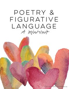 Poetry and Figurative Language Mini-Unit   Thirteen days of lessons, student notes, activities, assessments, and reflection to teach students the basics about figurative language in poetry.   everythingjustso.org