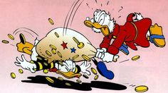 ouch Disney Duck, Walt Disney, Dagobert Duck, Looney Tunes, Donald Duck, Disney Characters, Fictional Characters, Snoopy, Cartoon