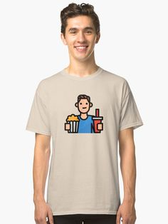 'Cute Cyclist Biker Girl Hobby Avatar' T-Shirt by passionemporium Gym Boy, Men Abs, Biker Girl, Avatar Cartoon, Tshirt Colors, Cute Boys, Neck T Shirt, Female Models, Classic T Shirts