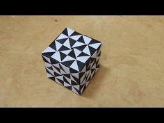 423 Origami 종이접기 (큐브 박스) 3 -1 Cube 색종이접기 摺紙 折纸 оригами 折り紙 اوريغامي - YouTube