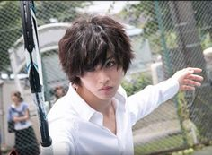 Yamazaki Kento as L in Death Note