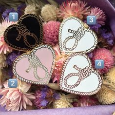 Heart Noose Hard Enamel Pin by gummytummypress on Etsy https://www.etsy.com/ca/listing/492989236/heart-noose-hard-enamel-pin