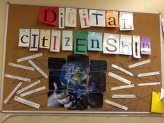 Digital citizenship - display idea