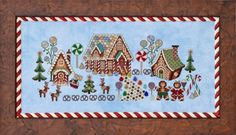 click here to view larger image of Gingerbread Grove (chart)