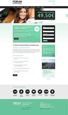 Marketing online y diseño web Centre Mèdic Fòrum http://centremedicforum.com