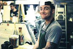 """Mac Miller...didn't know if i should've put this under the """"Things I'd Like To Do"""" board because i'd love to do him."""