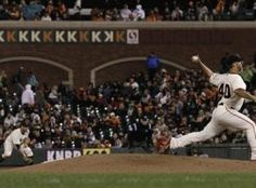 Bumgarner rules the plate  #SFGiants
