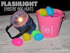 flashlight easter egg hunt.