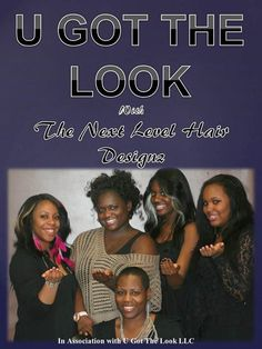 I want to thank Thenext Level Hairdesignz for letting us feature Them in our UGTL #Magazine and to show our Appreciation we customized a magazine for you and your customers.... This magazine will be on sale at http://www.ugotthelook.com