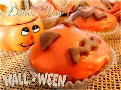 Les cupcakes Citrouilles {Halloween} - Délice-Yeux, l'univers gourmand de Marine