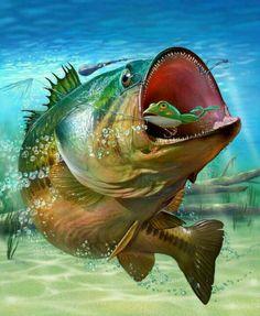 Wild World – Top Gear – Hot Pics – Badass People Wilde Welt – Top Gear – Heiße Bilder – Badass People Bass Fishing Pictures, Bass Fishing Tips, Gone Fishing, Trout Fishing, Kayak Fishing, Fishing Charters, Saltwater Fishing, Fishing Box, Fishing Stuff