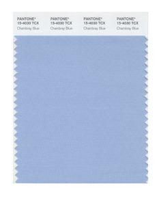Pantone 15-4307 TCX Smart Color Swatch Card, Chambray blue