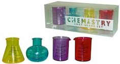 chemistry shot glass set - Buscar con Google