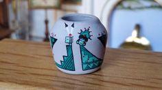 Dollhouse Miniature Artisan Joe and Kay Franek Native American Pottery 1:12
