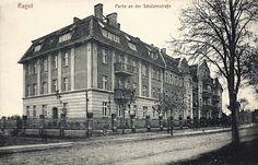 Жилой дом на Шутценштрассе (ныне ул Советская), построенный жильцами на личные средства. По нашему кооперативный дом.