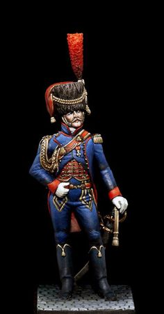 Ufficiale di artiglieria a cavallo della guardia imperiale francese