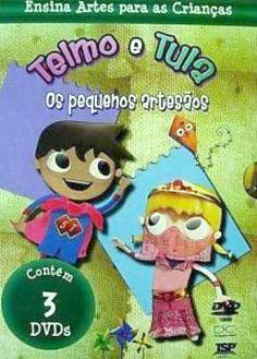 Coleção de DVDs Telmo e Tula Os Pequenos Artesãos - ISBN 9788561262358