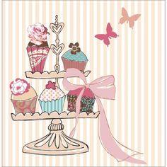 cupcake dibujo - Buscar con Google