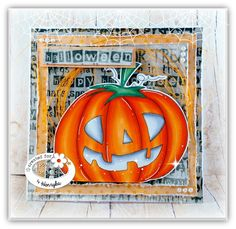 Magic Craft Land by Henryka: Halloween . Trick or Treat? Halloween Cards, Halloween Treats, Magic Crafts, Fall Cards, Copic Markers, Trick Or Treat, Pumpkin Carving, Colouring, Doodles