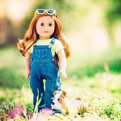 American girl doll photography: rule of thirds!
