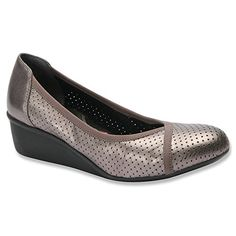 Grey And Teal Oxford Flats Womens Shoes