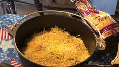 Dutch Oven Enchilada Casserole w/ CampMaid Coconut Charcoal by Chef Johnny Stewart Texas Style ...