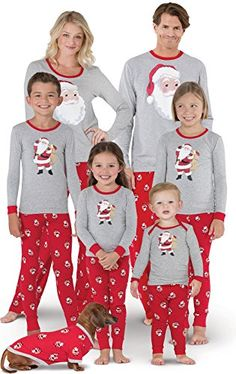 6cf3a10d5d Shop the latest collection of PajamaGram Christmas Pajamas Family - St.  Nick Christmas PJs