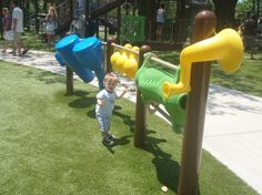 Largo Central Park has an awesome playground for kids 2 and up.