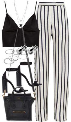 dem pantz doe + top + blazer for impt meetings. tas w/o blazer for brunches/night outz
