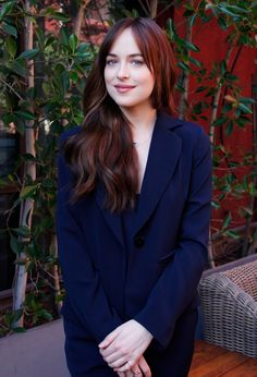 Dakota Johnson at a press conference for How To Be Single in LA - 28 Jan 2016