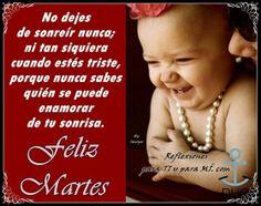 No dejes de sonreir...