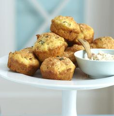 Spanische Muffins - [ESSEN UND TRINKEN] Quiche Muffins, Outdoor Food, Party Buffet, Snack Bar, Creative Food, Great Recipes, Brunch, Cooking Recipes, Baking