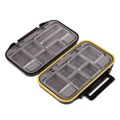 Fishing Box Accessories Waterproof Eco-Friendly Fishing Lure Bait Tackle Waterproof With 12 Compartments