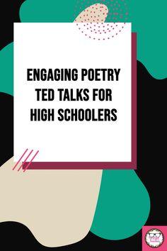 English Teaching Resources, Teacher Resources, English Language, Language Arts, World Poetry Day, Poetry Unit, National Poetry Month, Teaching Poetry, Secondary Teacher